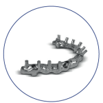 protesis hibrida titanio